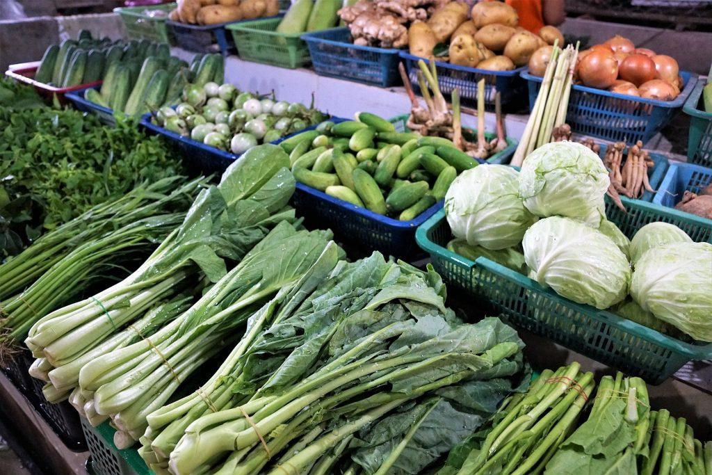 Le Troglo - Etale de fruit et légume